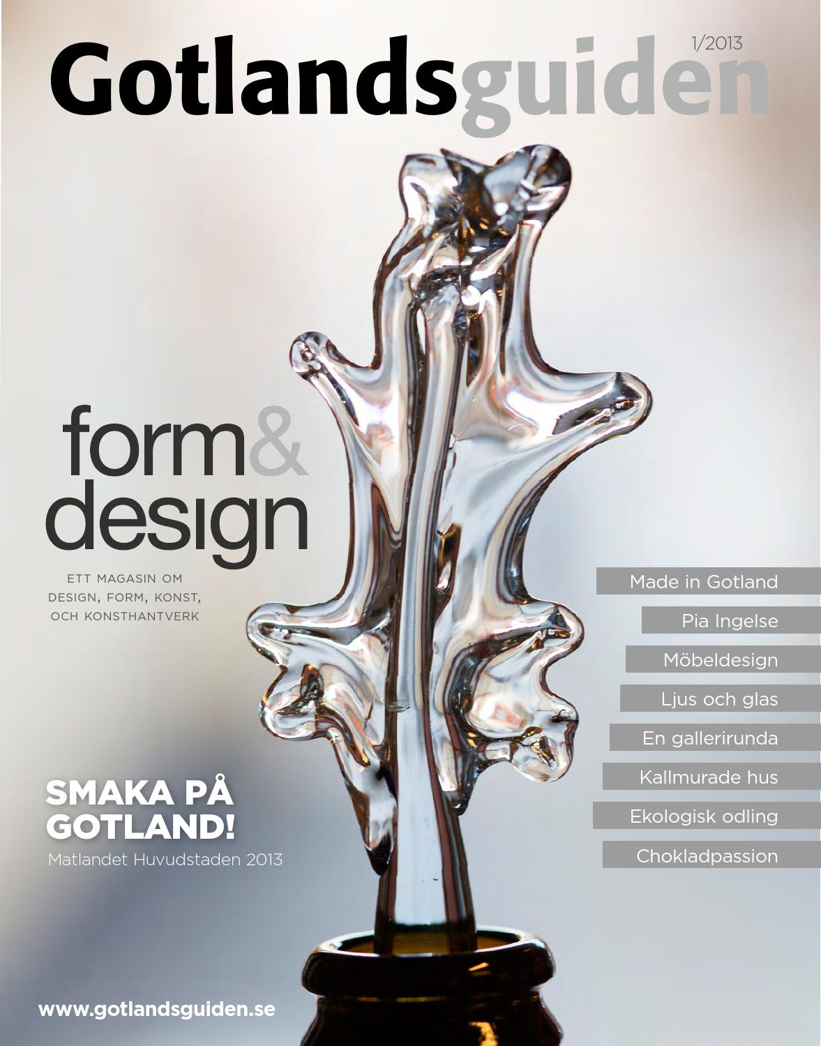 Gotlandsguiden form & design 2014 by gotlandsguiden   issuu