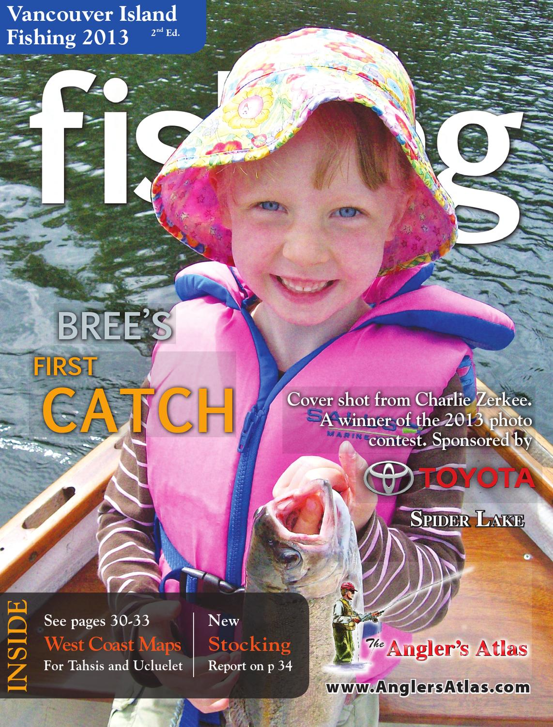 Vancouver island fishing by kamloops daily news issuu for Nd game and fish stocking report