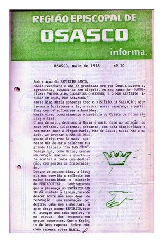 [Bio Região Episcopal Osasco Maio 1978]