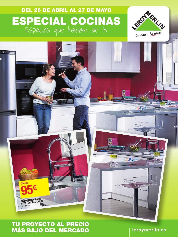 Catalogo leorymerlin especial cocinas espacio que for Muebles cocina leroy merlin catalogo