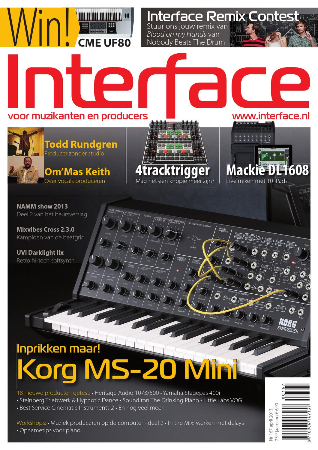 Interface Magazine April 2013 by Marcel Willemsen - issuu