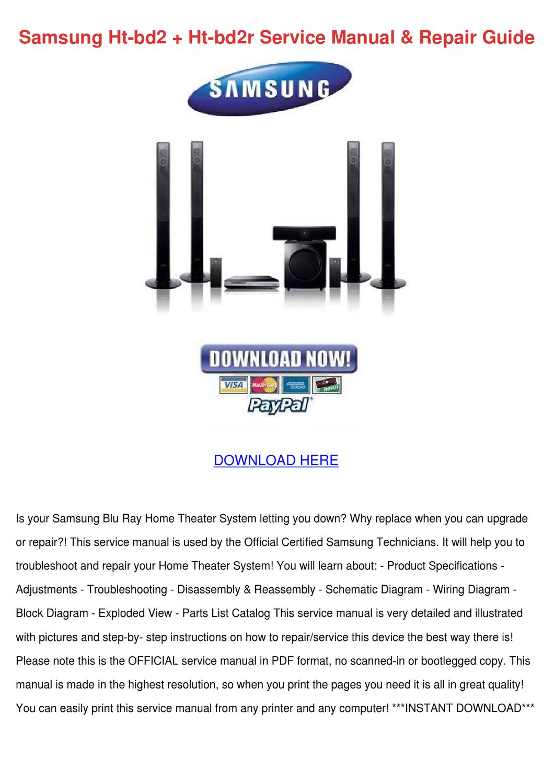 samsung hl p5685w hl p5085w dlp tv service manual