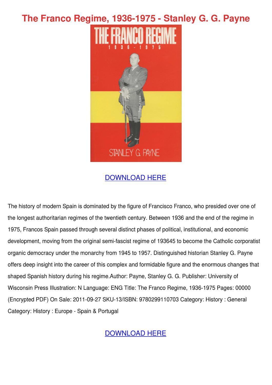 the franco regime in spain essay