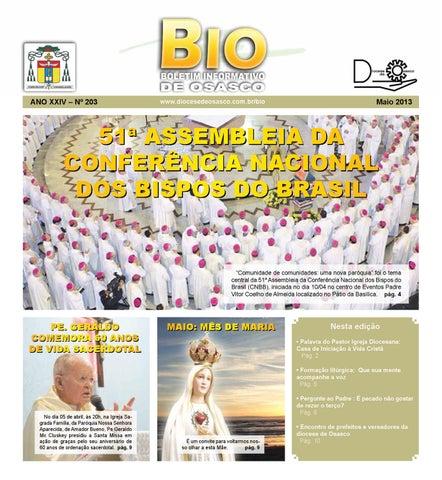 [Bio Diocesano Maio 2013]