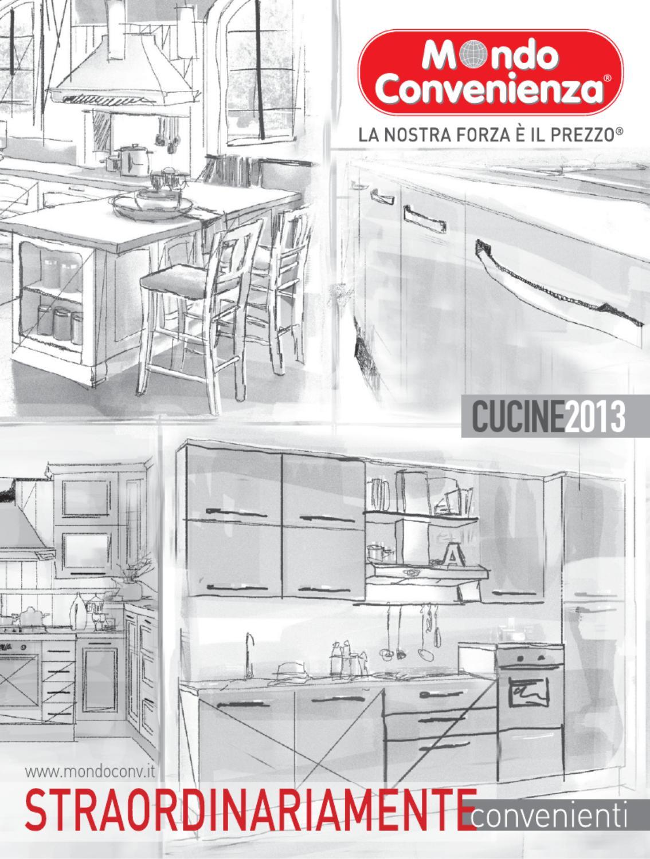 Mondo convenienza catalogo cucine 2013 by - Mondo convenienza cucine misure ...