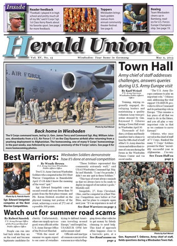 May 9, 2013 - Herald Union