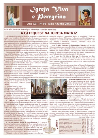 [Igreja Viva e Peregrina – Maio/Junho 2013]
