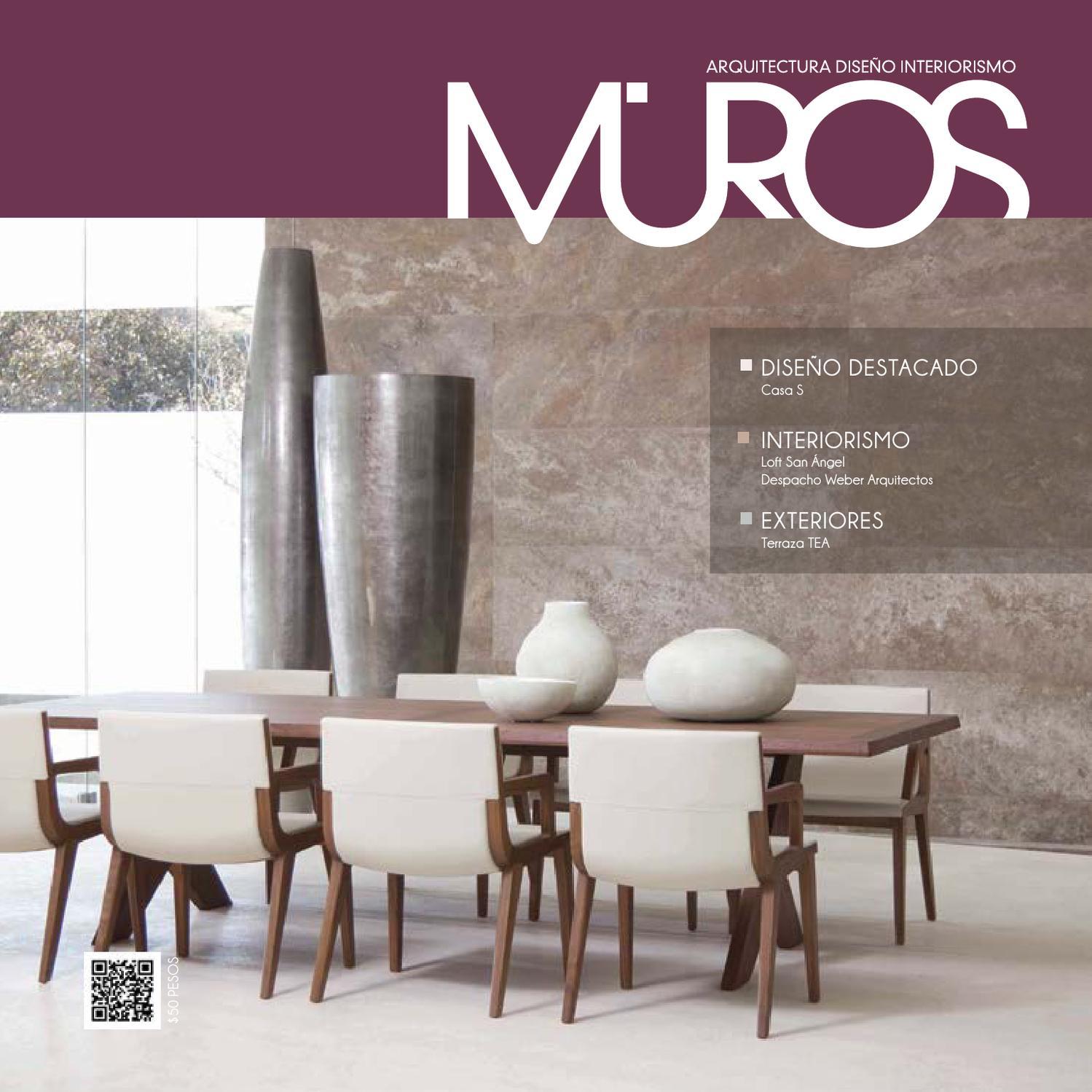 Edici n 4 revista muros arquitectura dise o interiorismo for Terminaciones de techos interiores