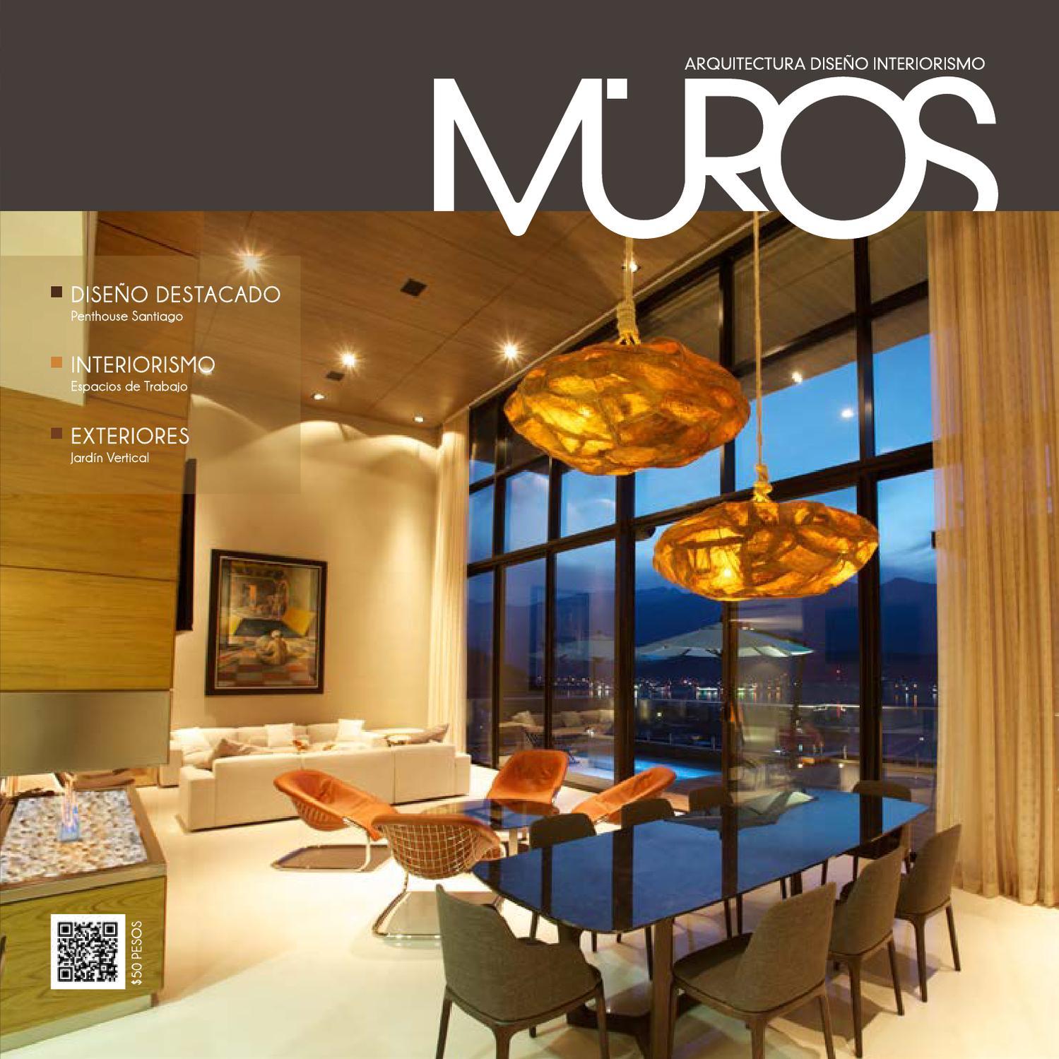 Edici n 0 revista muros arquitectura dise o interiorismo for Revista habitat arquitectura diseno interiorismo