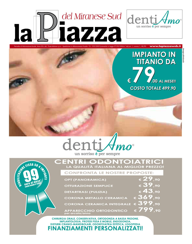 La piazza del miranese sud 2013apr n46 by lapiazza give for Houseplans vivente del sud