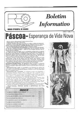 [Bio Região Episcopal Osasco Abril 1980]
