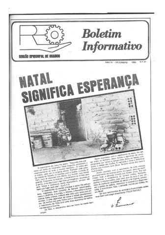 [Bio Região Episcopal Osasco Dezembro 1980]