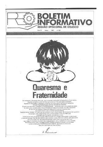 [Bio Região Episcopal Osasco Março 1981]