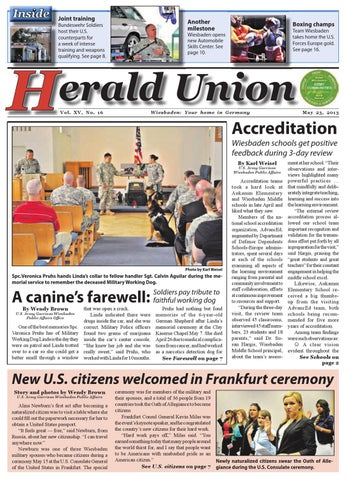 May 23, 2013 - Herald Union