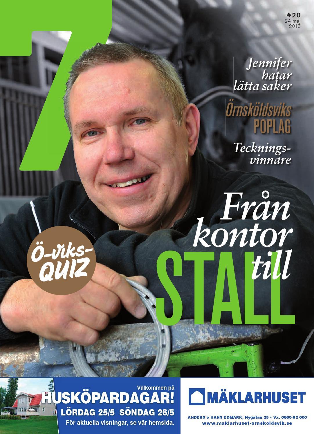 Tidningen7 nr 20 2013 by 7an mediapartner   issuu