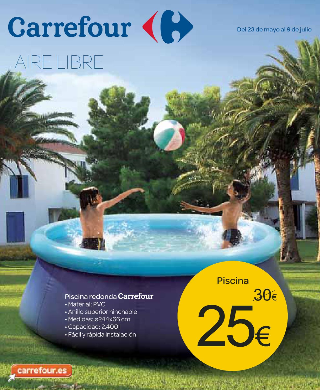 Catalogo carrefour piscinas 2013 by for Piscinas plastico carrefour