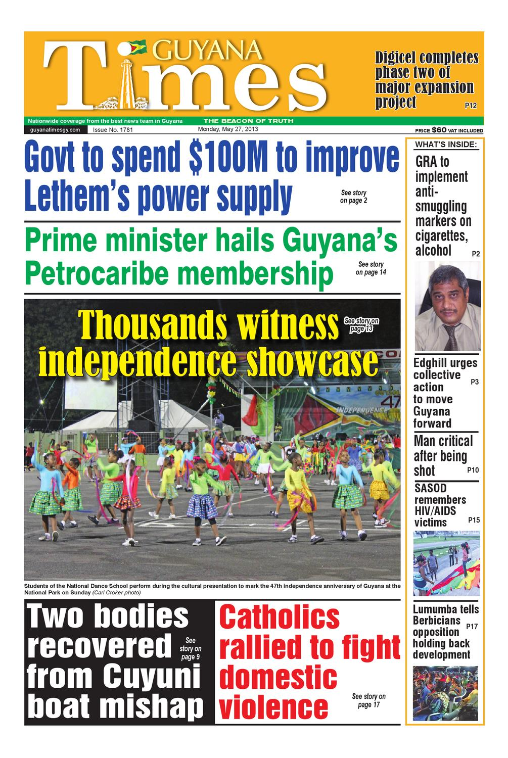 05/27 Guyana Times by ...