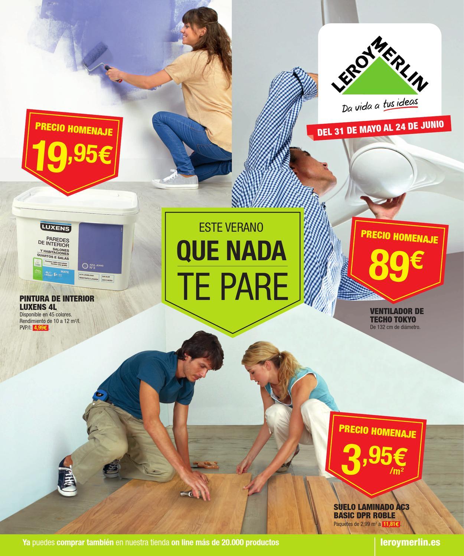 Catalogo de precios leroy merlin by for Pintura para azulejos precio leroy merlin