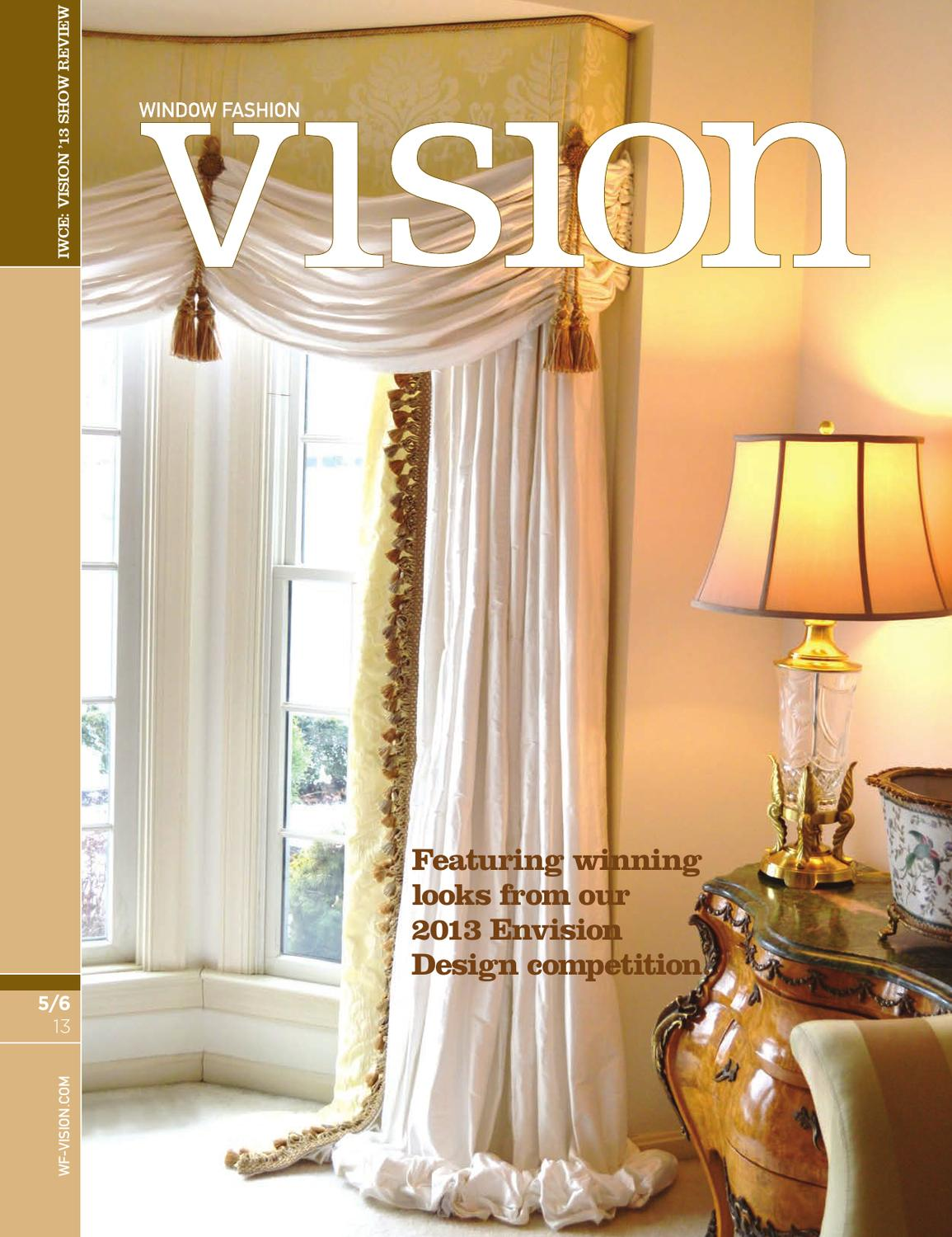 Wfv may june 2013 by window fashion vision magazine issuu for Cheryl draa interior designs