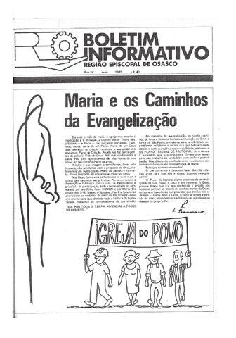 [Bio Região Episcopal Osasco Maio 1981]