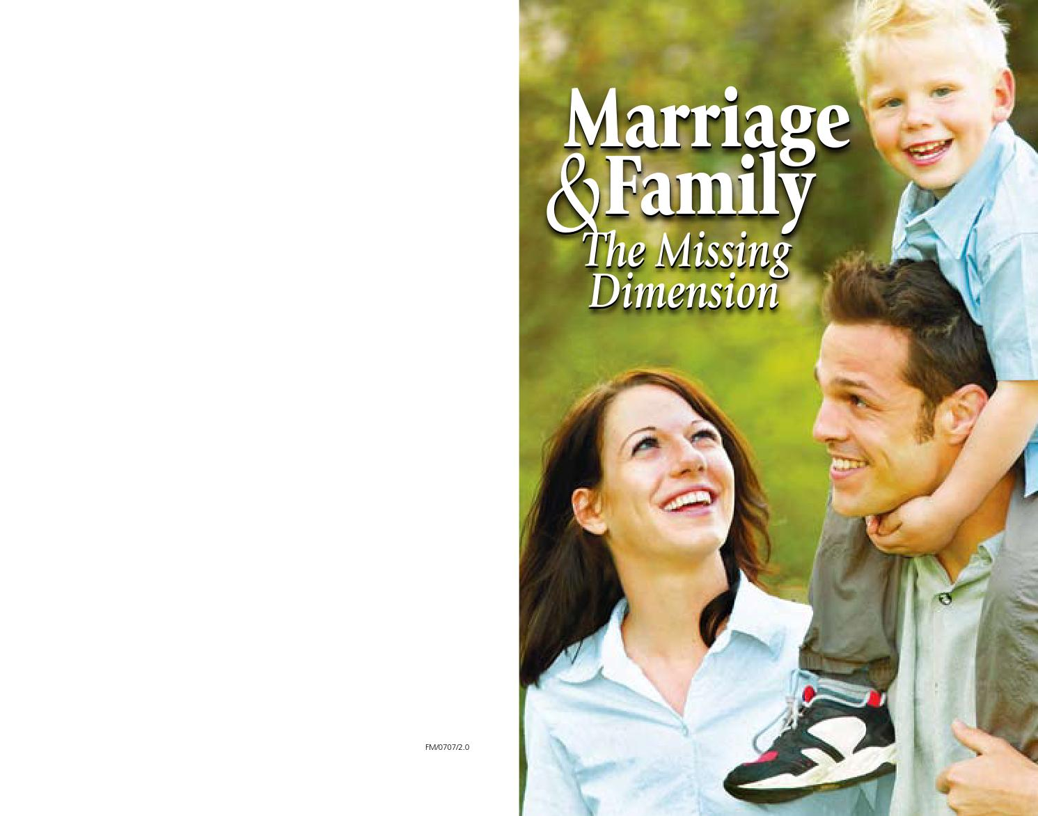 marriage and family studies Career opportunities for marriage & family therapy ms human development and family studies bs the marriage and family therapy program prepares students.