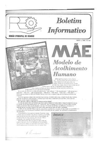 [Bio Região Episcopal Osasco Maio 1980]