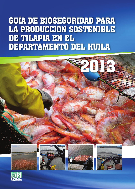 Guia de bioseguridad para la produccion sostenible de for Criaderos de truchas y tilapias
