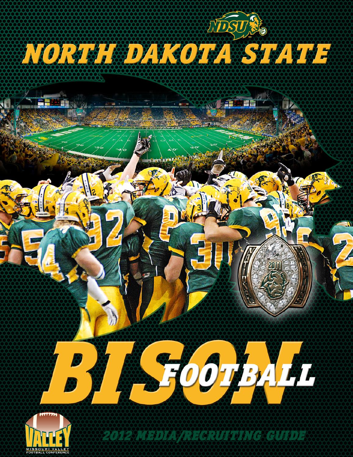 2012 North Dakota State Football Media Guide by North ...