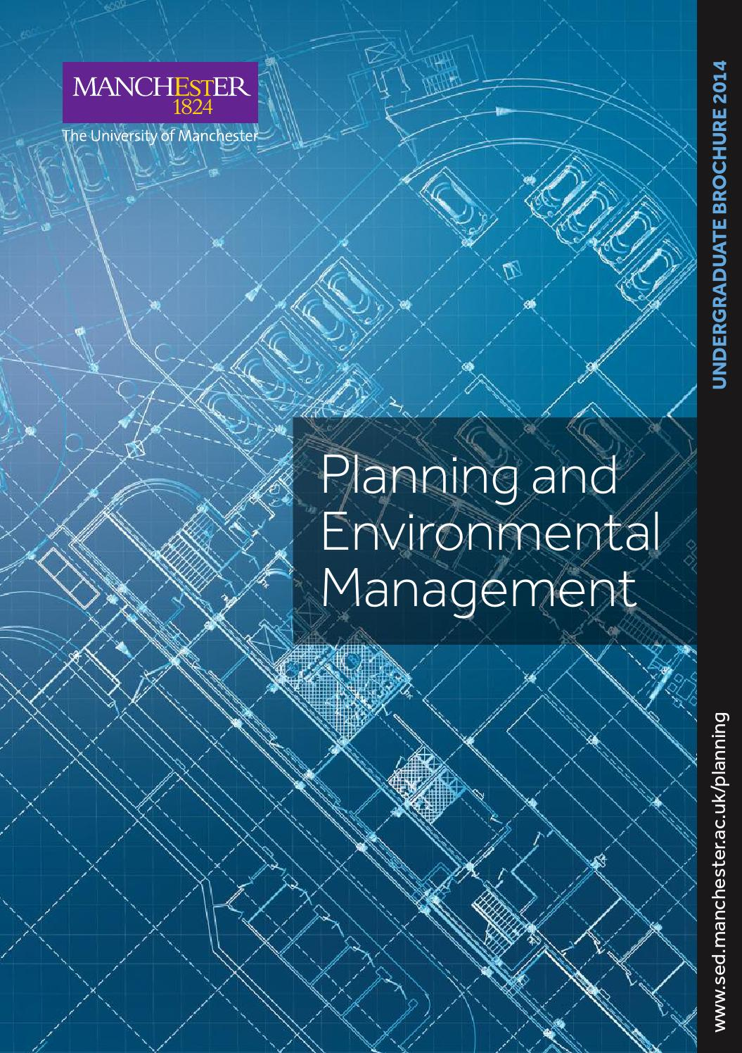 I have completed your BShons environmental planning and management wondering what should you do further?