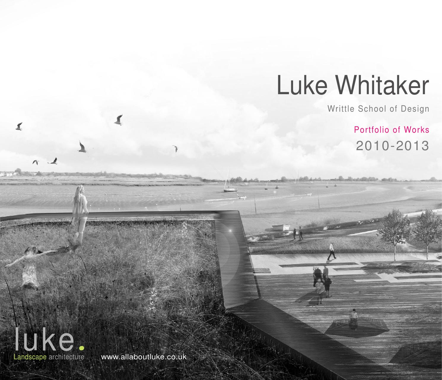 Landscape architecture portfolio by luke whitaker issuu for Garden design portfolio