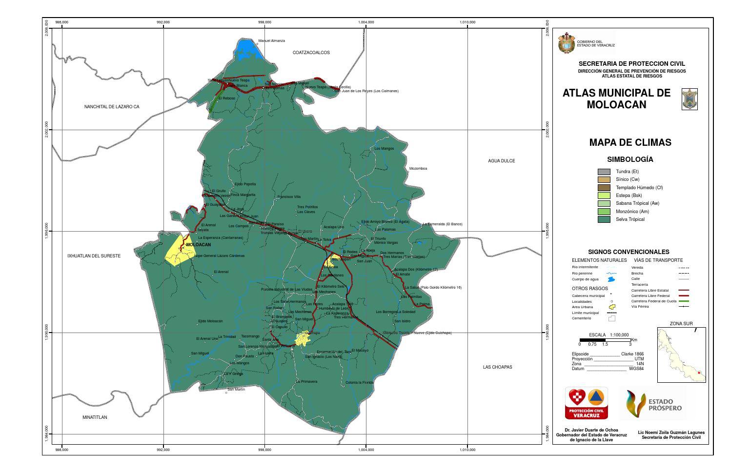 Moloacan By Atlas Estado Veracruz Issuu