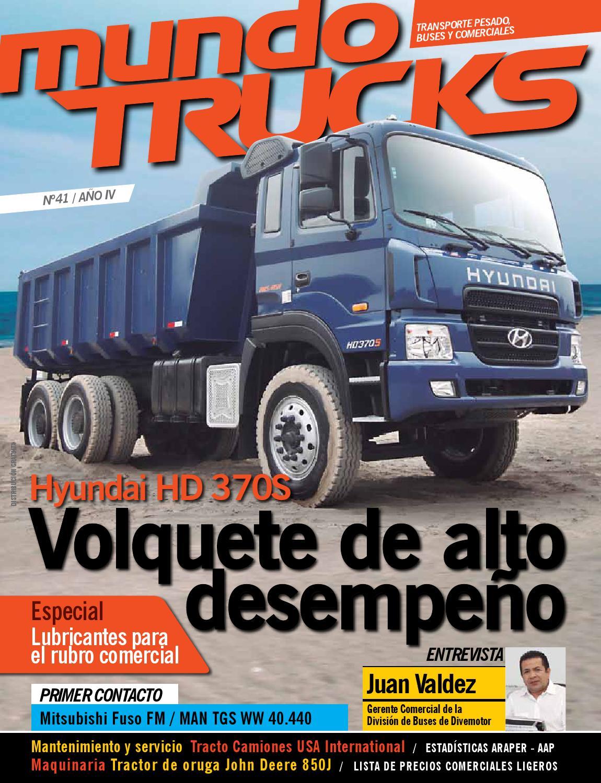 Mundo Trucks Abril 2013 Tr41 By Mundo Tuerca Issuu
