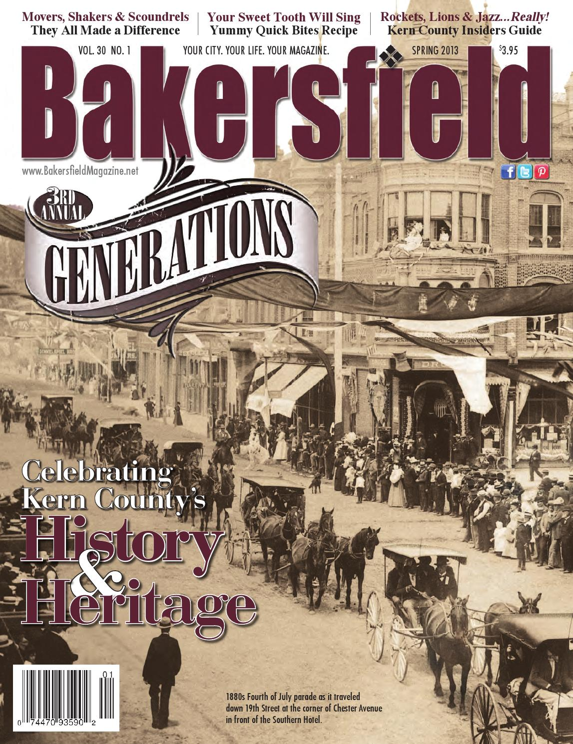 Bakersfield magagzine 30 1 generations by bakersfield for Bakersfield home magazine
