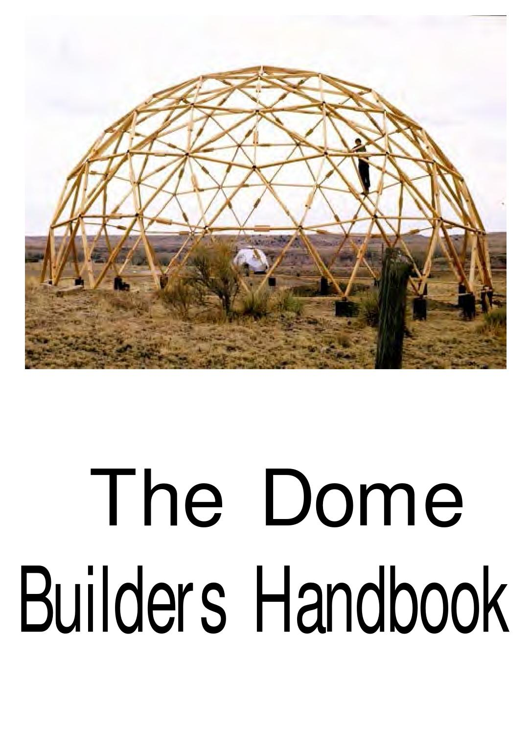 The Dome Builders Handbook By Z-Waver