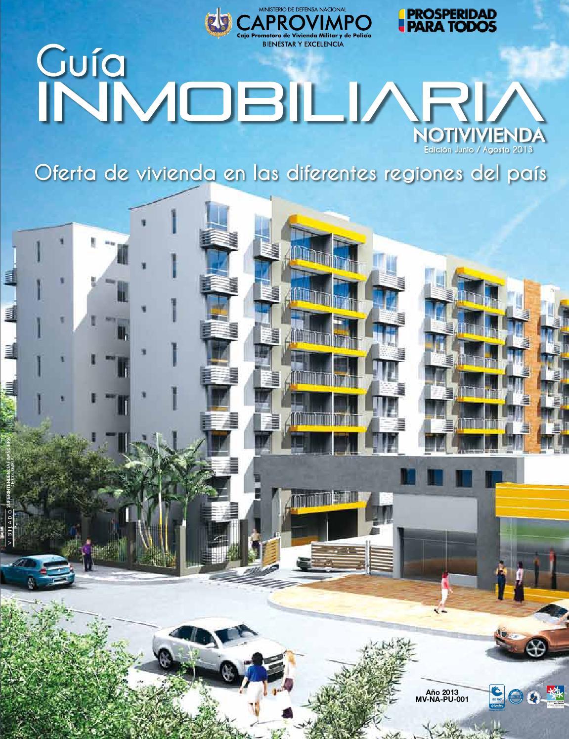 Guia inmobiliaria caprovimpo by caja honor issuu for Guia inmobiliaria