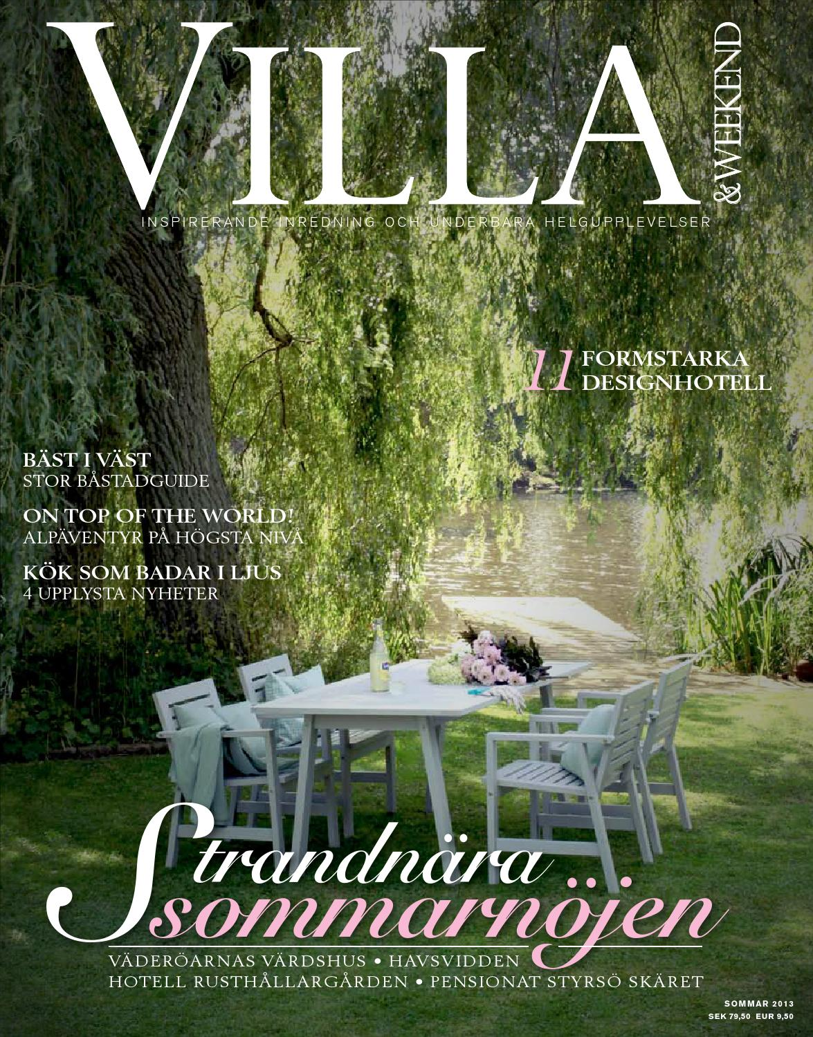 Villa & weekend sommar 2013 by bohman chirstian   issuu