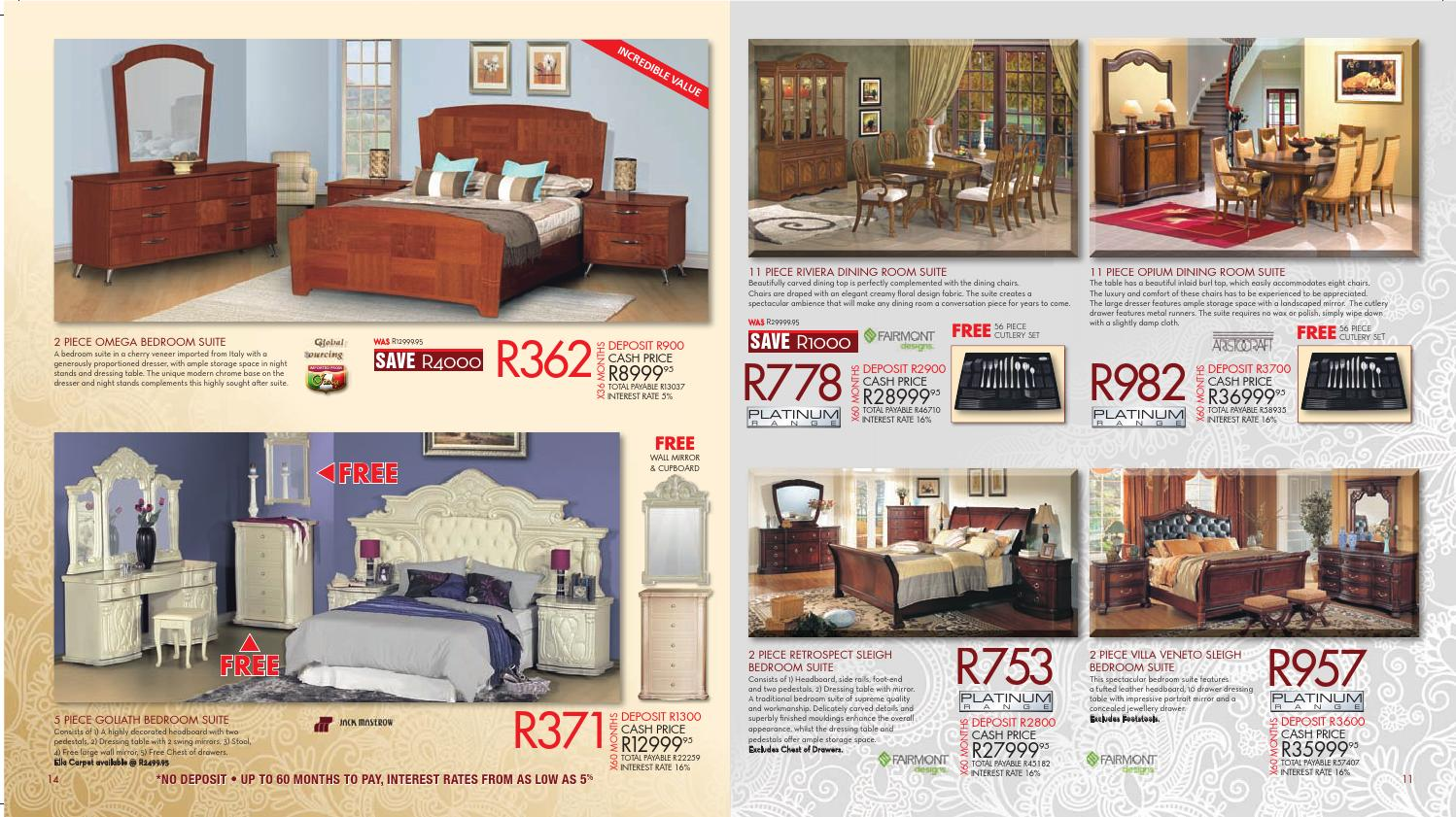 Dining room suites at bradlows for Kitchen furniture south africa