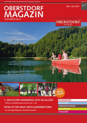 Oberstdorf Magazin 7/2013
