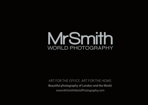 Introducing Mr Smith World Photography