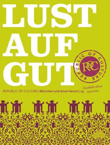 LUST AUF GUT Magazin | München Nr. 15