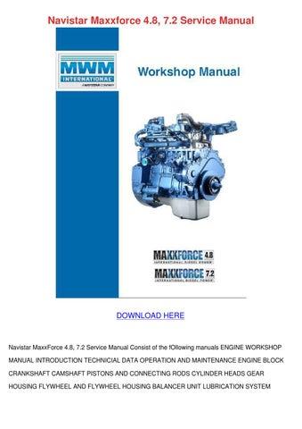Maxxforce 7 service Manual