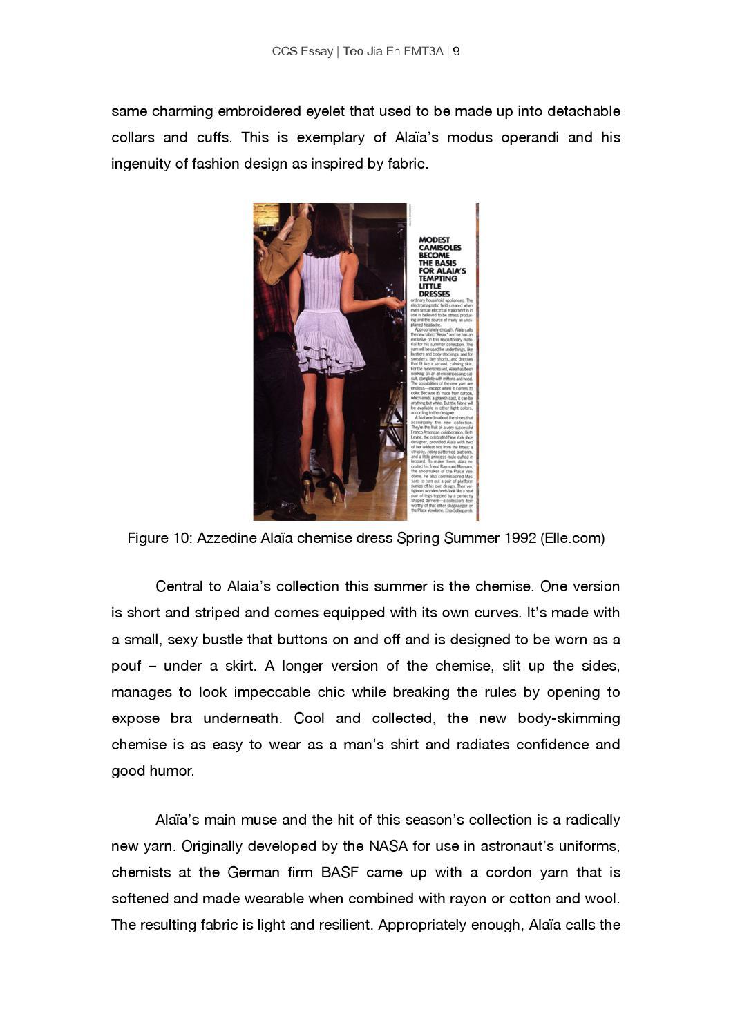 culture studies for fashion essay