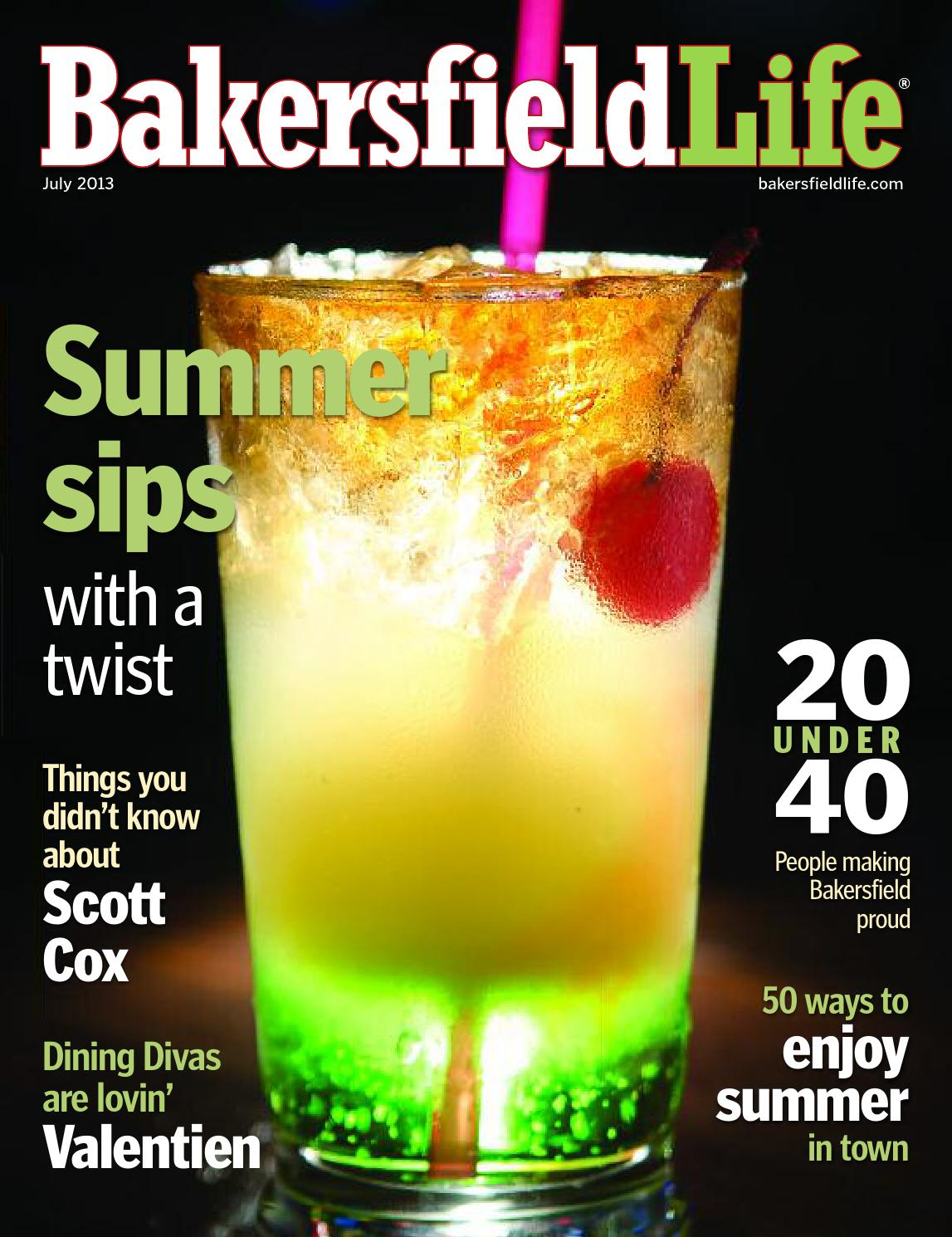 Bakersfield Life Magazine July 2013 By Tbc Media Specialty