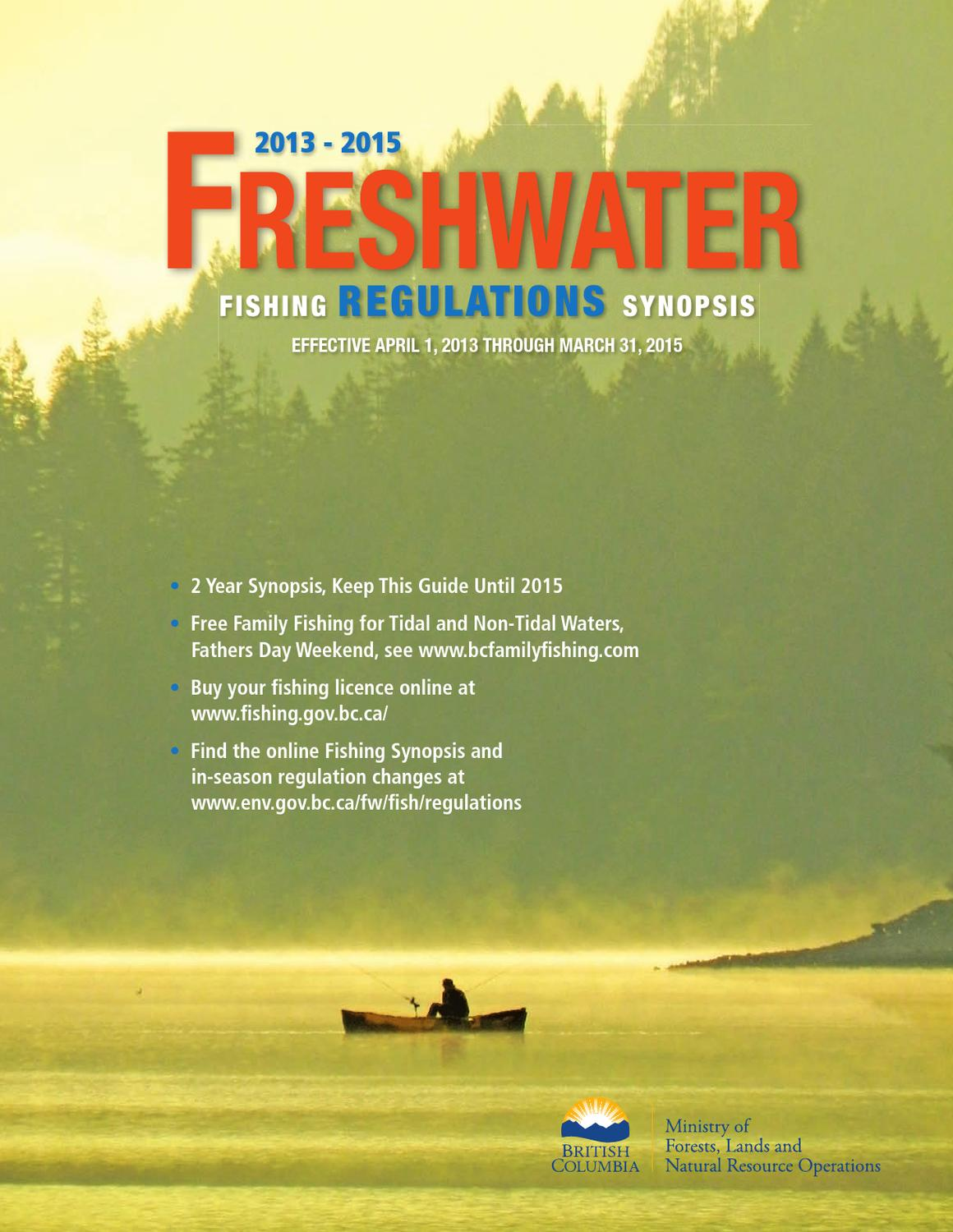 Special features fishing regulations 2013 15 by black for California 1 day fishing license