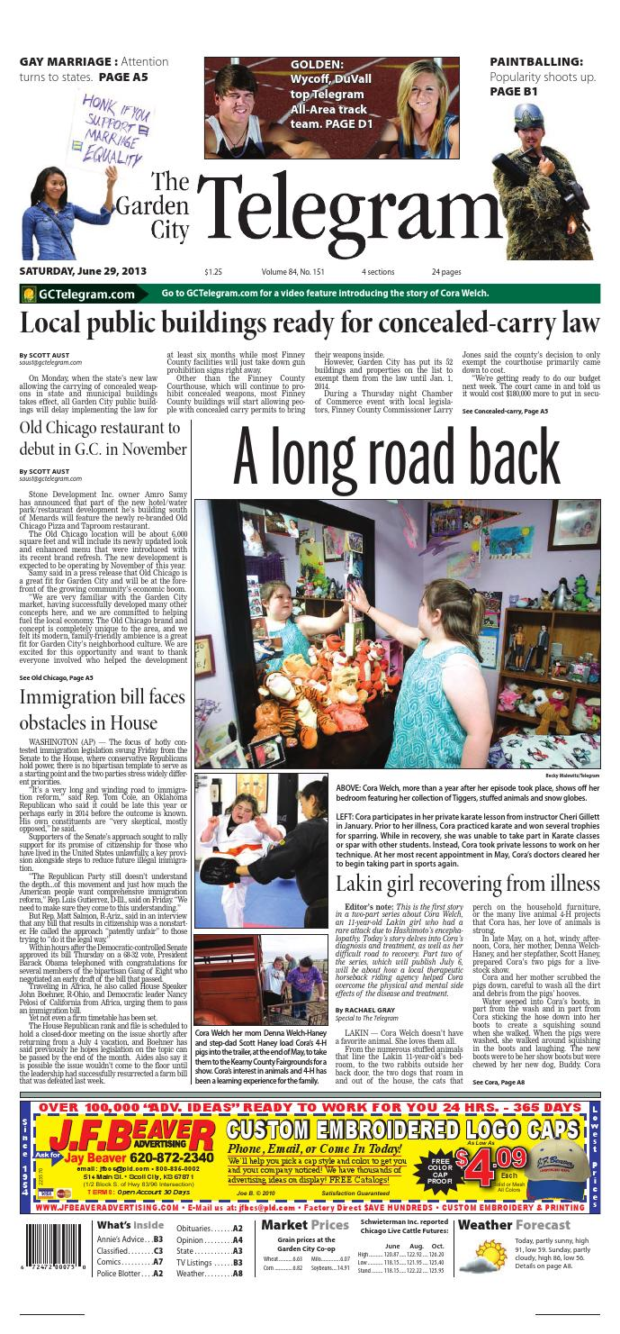 Garden City Telegram June 4 2013 by Garden City Telegram issuu