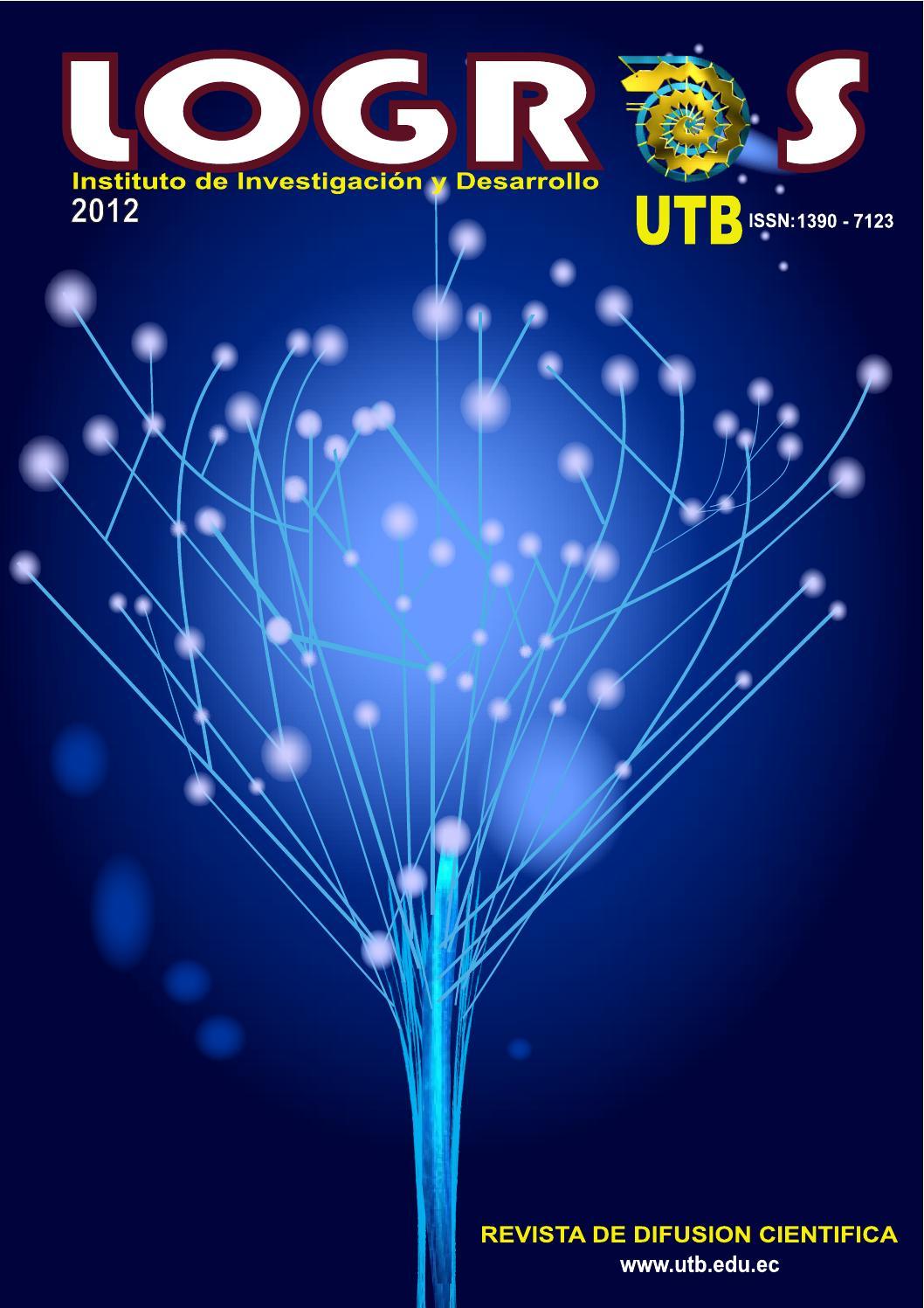 revista cient237fica logros 2012 by jorge alarc243n cadena issuu
