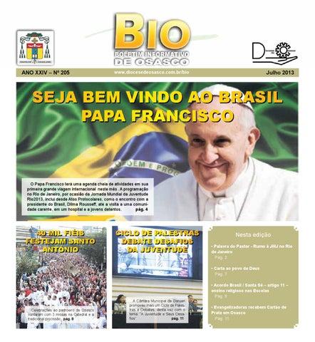 [Bio Diocesano Julho 2013]