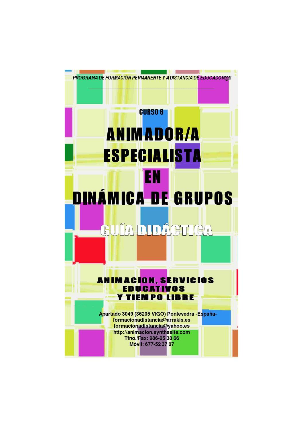 Thumbnail for Guia Didactica Curso Animador Especialista en Dinamica de Grupos