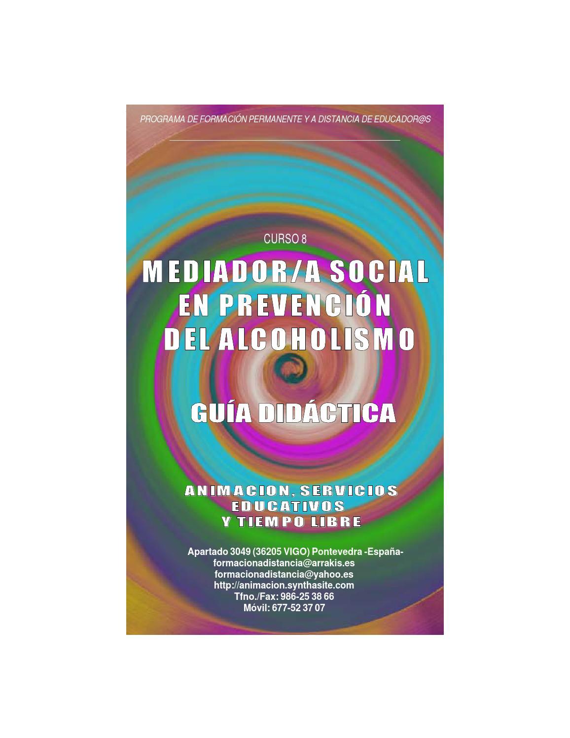 Thumbnail for Guia Didactica Curso Mediador prevencion del Alcoholismo