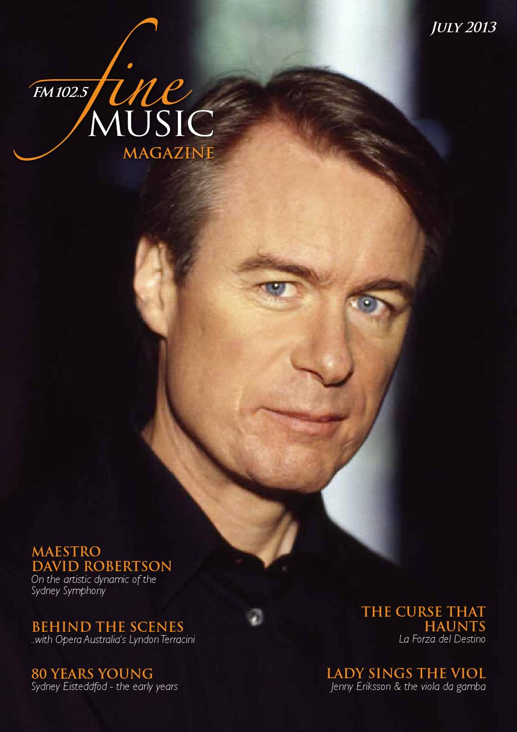 fine music magazine by editor issuu
